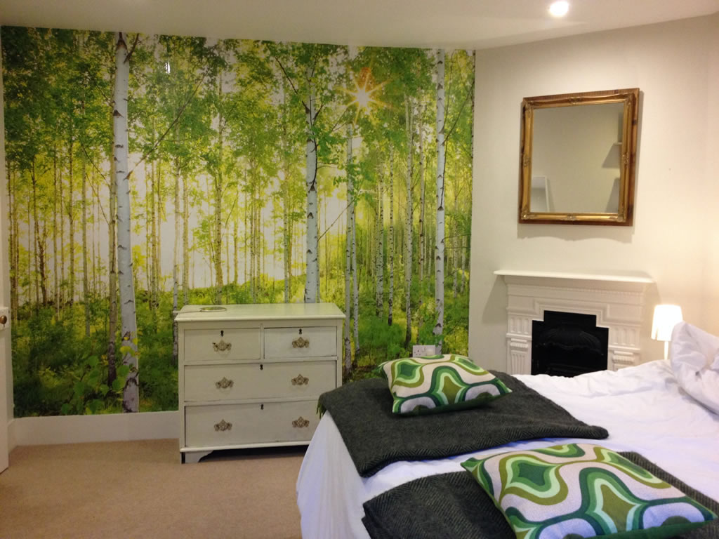 Trees bedroom
