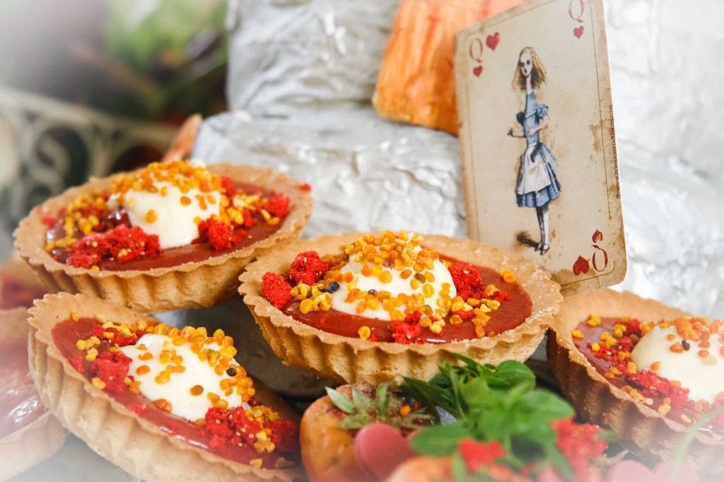 Alice tea tarts